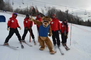 Shout out to the Ski Patrol and Calvin for an awesome first day at Okemo!