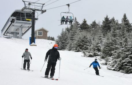 From Okemo: The South Face is Open