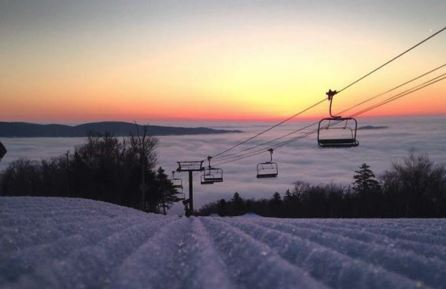 Mount Snow this morning
