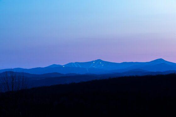 Killington at sunset
