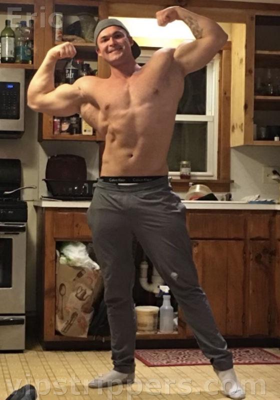 Eric, Male stripper